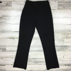 Vintage 90s Black Flared Pants Medium